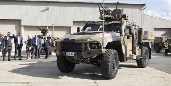 Thales,Hawkei