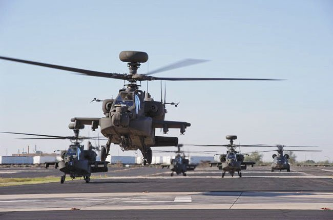 Boeing engages with Indonesian Army on Apache support